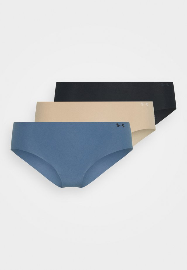 HIPSTER 3PACK - Slip - black