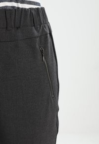 Kaffe - JILLIAN VILJA - Trousers - dark grey melange - 4