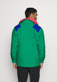 Columbia - MONASHEE ANORAK - Hardshell jacket - emerald green/lapis blue - 2