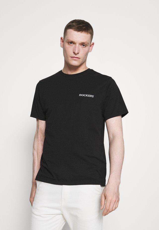 LOGO TEE - Camiseta estampada - black
