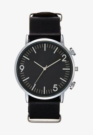 Hodinky - black/silver-coloured