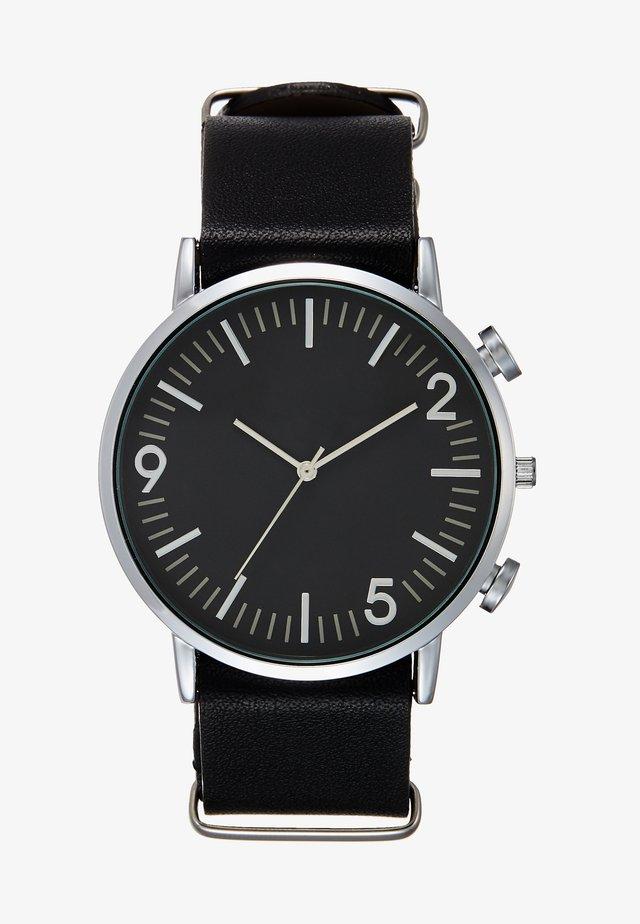 Orologio - black/silver-coloured