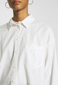 Monki - MEJA  - Button-down blouse - white - 4