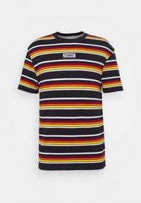 DYE STRIPE TEE - Print T-shirt - black/multi