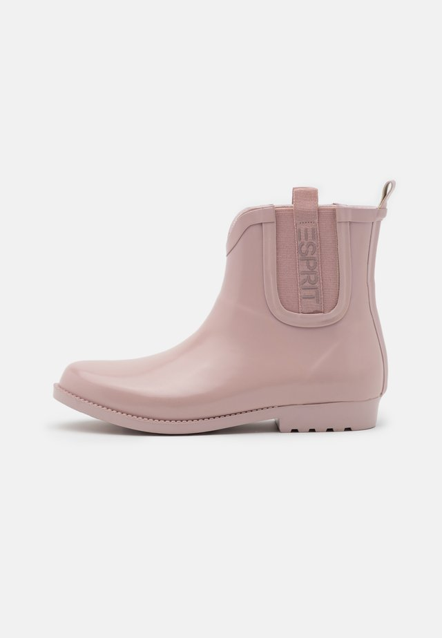 GLAS GOW RIBBON - Wellies - light pink