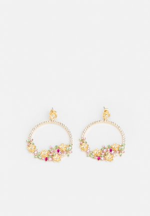 PCBUTTAFLA EARRINGS - Earrings - gold-coloured/multi