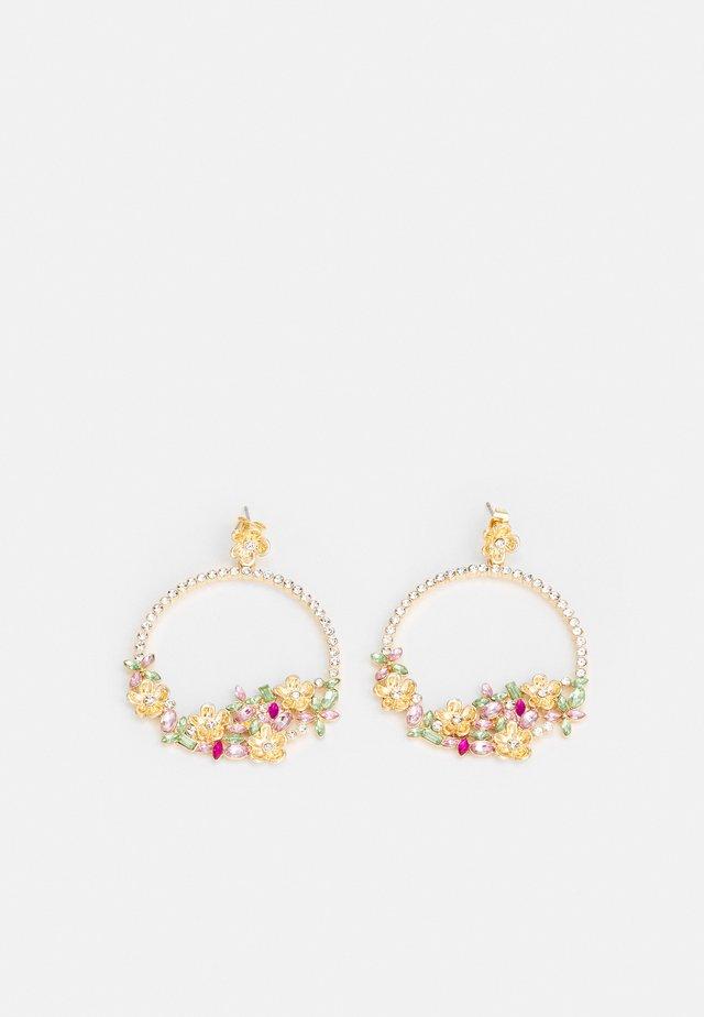 PCBUTTAFLA EARRINGS - Kolczyki - gold-coloured/multi