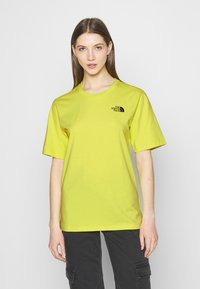 The North Face - SIMPLE DOME - T-shirts - sulphur spring green - 0