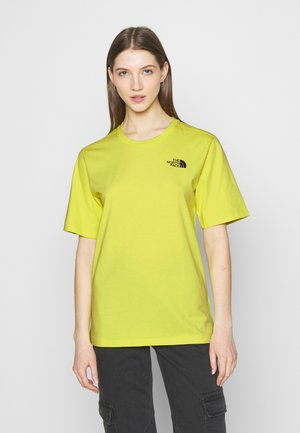 SIMPLE DOME - Basic T-shirt - sulphur spring green