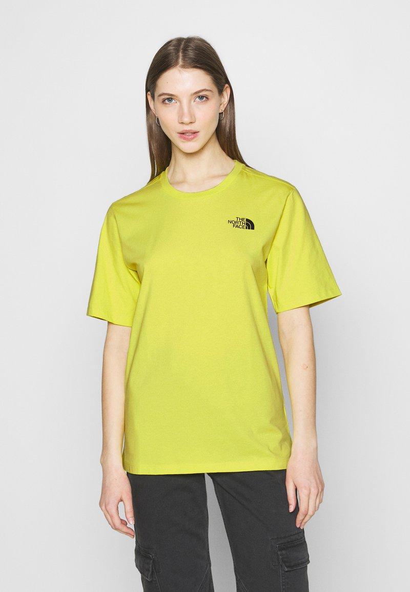 The North Face - SIMPLE DOME - T-shirts - sulphur spring green