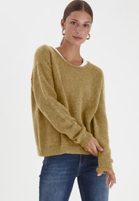 PULZ - PXIRIS SPECIAL FAIR OFFER - Jumper - gothic olive - 0