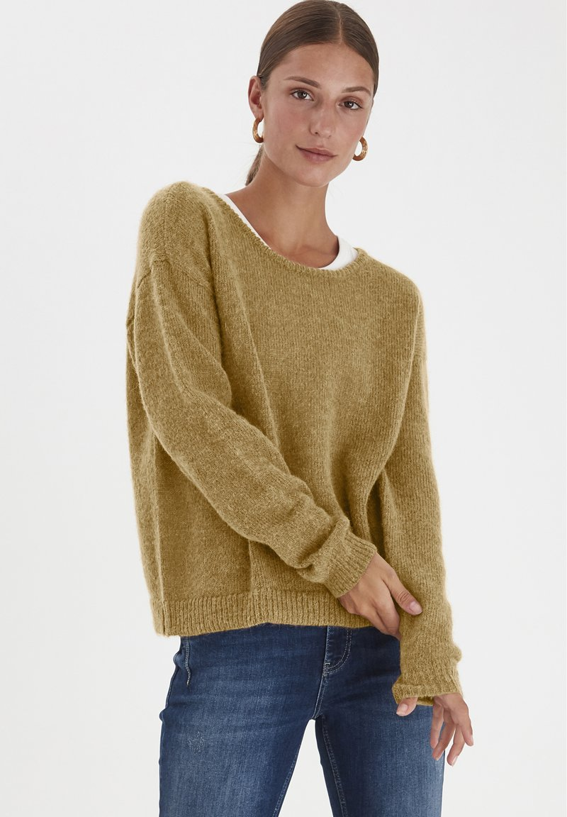 PULZ - PXIRIS SPECIAL FAIR OFFER - Jumper - gothic olive