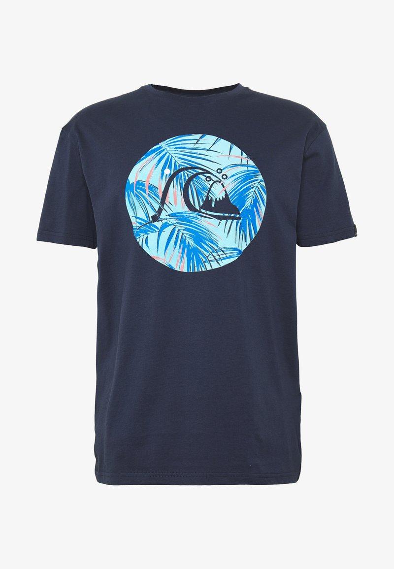 Quiksilver - JUNGLE BUBBLE  - Print T-shirt - parisian night