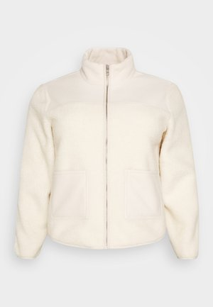 PCSADIE - Fleece jacket - whitecap gray