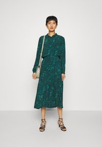 mbyM - BILJANA - A-line skirt - dark green - 1