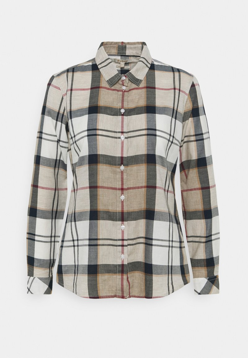 Barbour - BREDON - Button-down blouse - beige