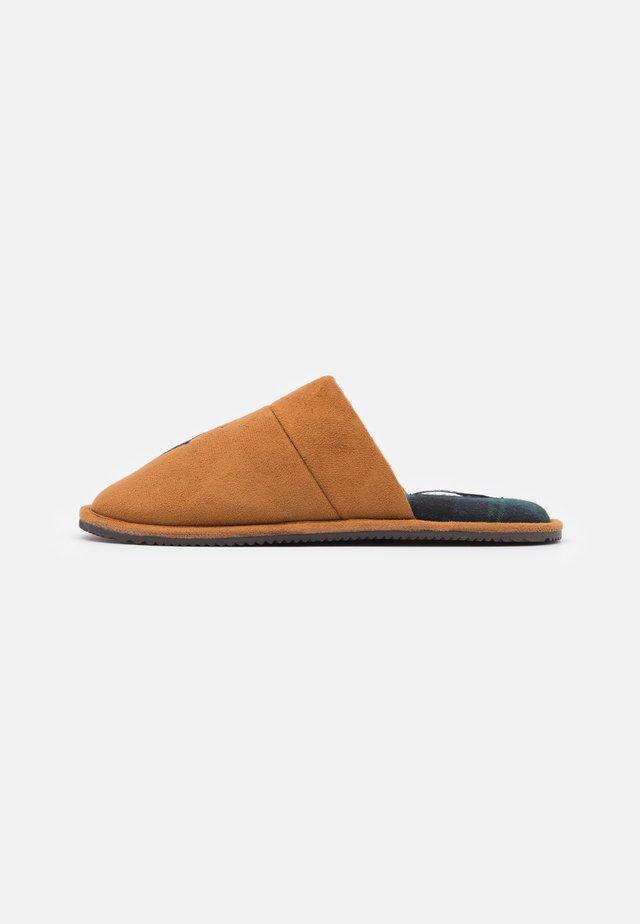 KLARENCE UNISEX - Pantoffels - snuff/navy