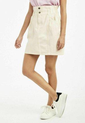 ROCK - A-line skirt - ecru