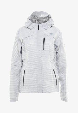 FLIGHT TRIN JACKET   - Hardshell jacket - white