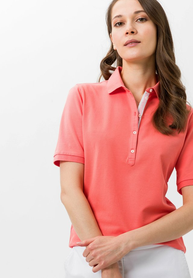 STYLE CLEO - Polo - coral