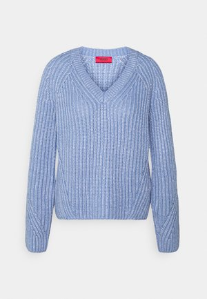 SADELLA - Pullover - bright blue