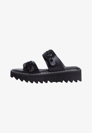 Sandalias - black matt