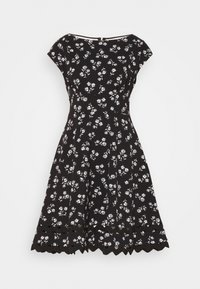 kate spade new york - NERISSA FLORAL PONTE DRESS - Jersey dress - black - 0