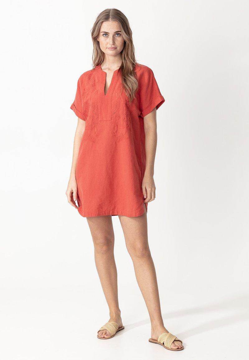 Indiska - Tunic - red