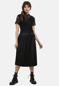 myMo ROCKS - KLEID - Cocktail dress / Party dress - black - 1