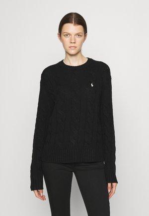 CLASSIC LONG SLEEVE - Sweter - black