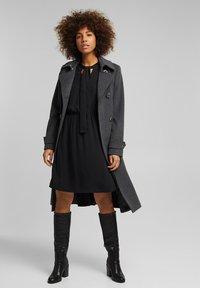 Esprit - FASHION - Day dress - black - 1