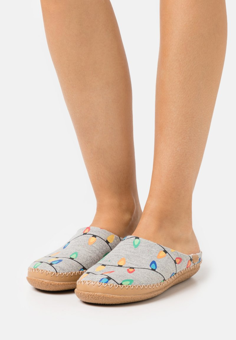 TOMS - IVY - Slippers - grey