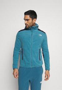 The North Face - DIABLO  HOODIE  - Fleece jacket - mllrdbl/urbnavy - 0