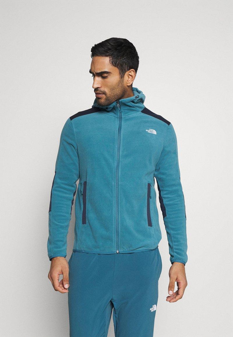 The North Face - DIABLO  HOODIE  - Fleece jacket - mllrdbl/urbnavy