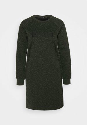 ABITO - Sukienka z dżerseju - laurel green met