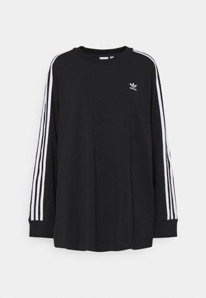 3-STRIPES ADICOLOR - Langærmede T-shirts - black