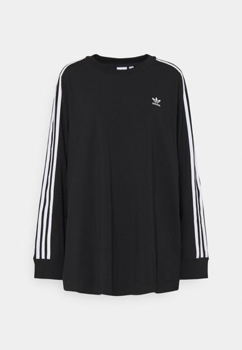 3-STRIPES ORIGINALS ADICOLOR LONG SLEEVE T-SHIRT - Maglietta a manica lunga - black