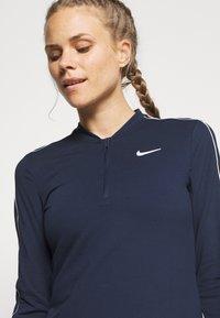 Nike Performance - DRY  - Funkční triko - obsidian/white - 3