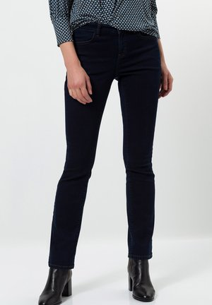 Bootcut jeans - blue black rinse wash