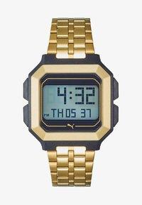 Puma - REMIX - Digital watch - gold-coloured - 1