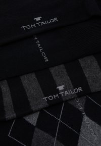 TOM TAILOR - SOCKS GRAPHICS 4 PACK - Socks - black
