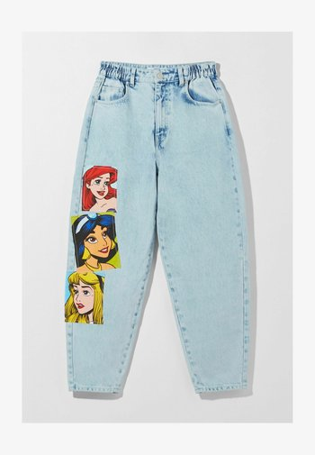 DISNEY PRINCESSES - Relaxed fit jeans - light blue