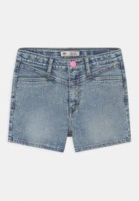 Levi's® - HIGH RISE - Denim shorts - light-blue denim - 0