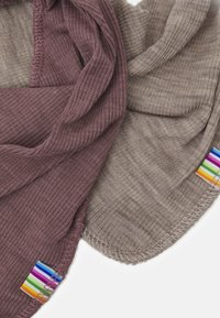 Joha - SCARF 2 PACK - Sjaal - berry/mottled light brown - 2