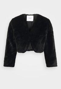 JDY - JDYVALA 3/4 BOLERO  - Light jacket - black - 4