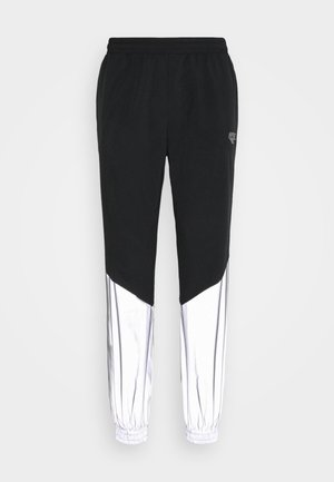 FREDERICK COLOURBLOCK REFLECTIVE TRACK PANTS - Tracksuit bottoms - black