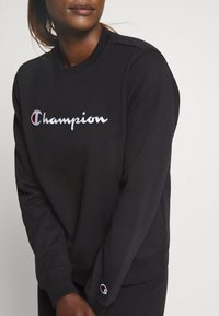 Champion - CREWNECK ROCHESTER - Collegepaita - black - 5