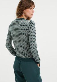 WE Fashion - Neuletakki - green - 2