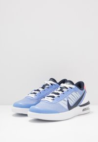 Nike Performance - COURT AIR MAX VAPOR WING - Tennisschoenen voor alle ondergronden - royal pulse/obsidian white/sunblush - 2