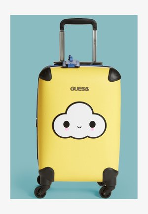 Wheeled suitcase - mehrfarbig  gelb